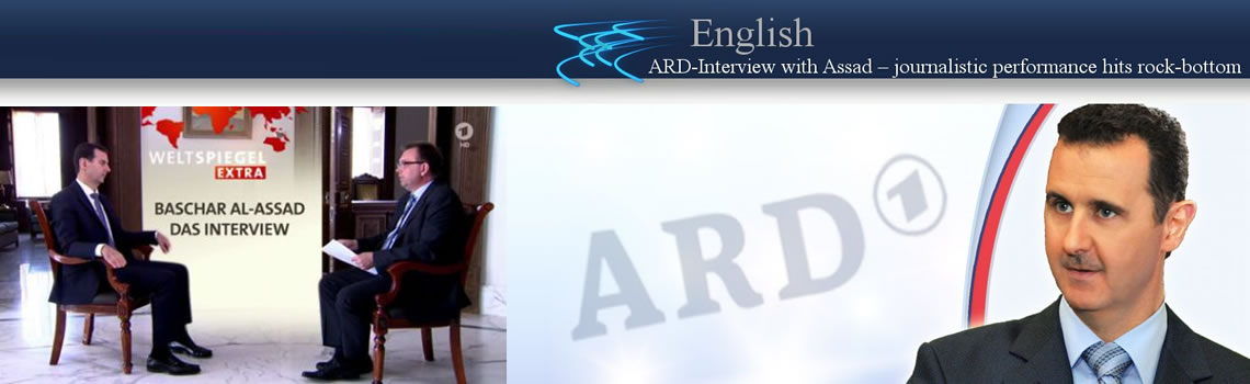 interview assad ard 2016