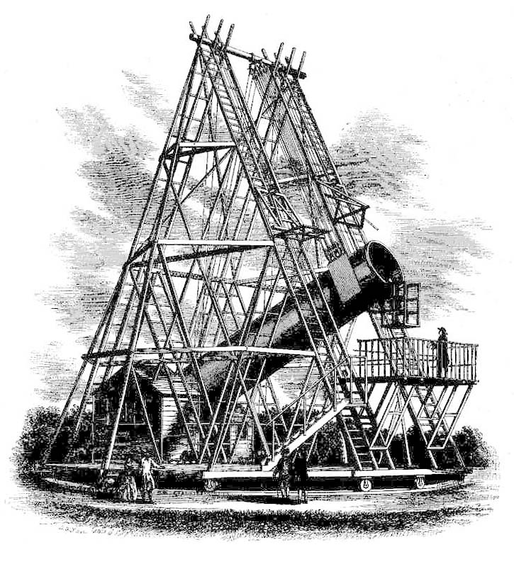 Herschel40foot telescope