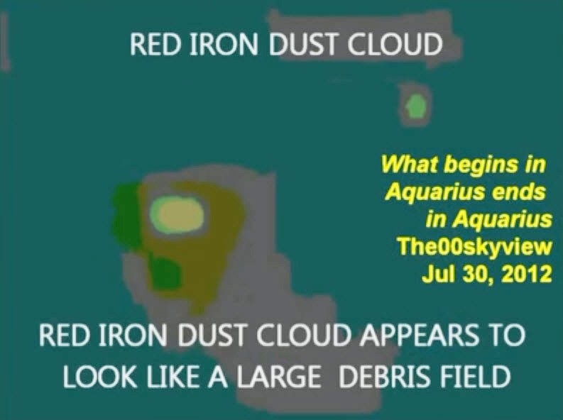 red iron dust cloud